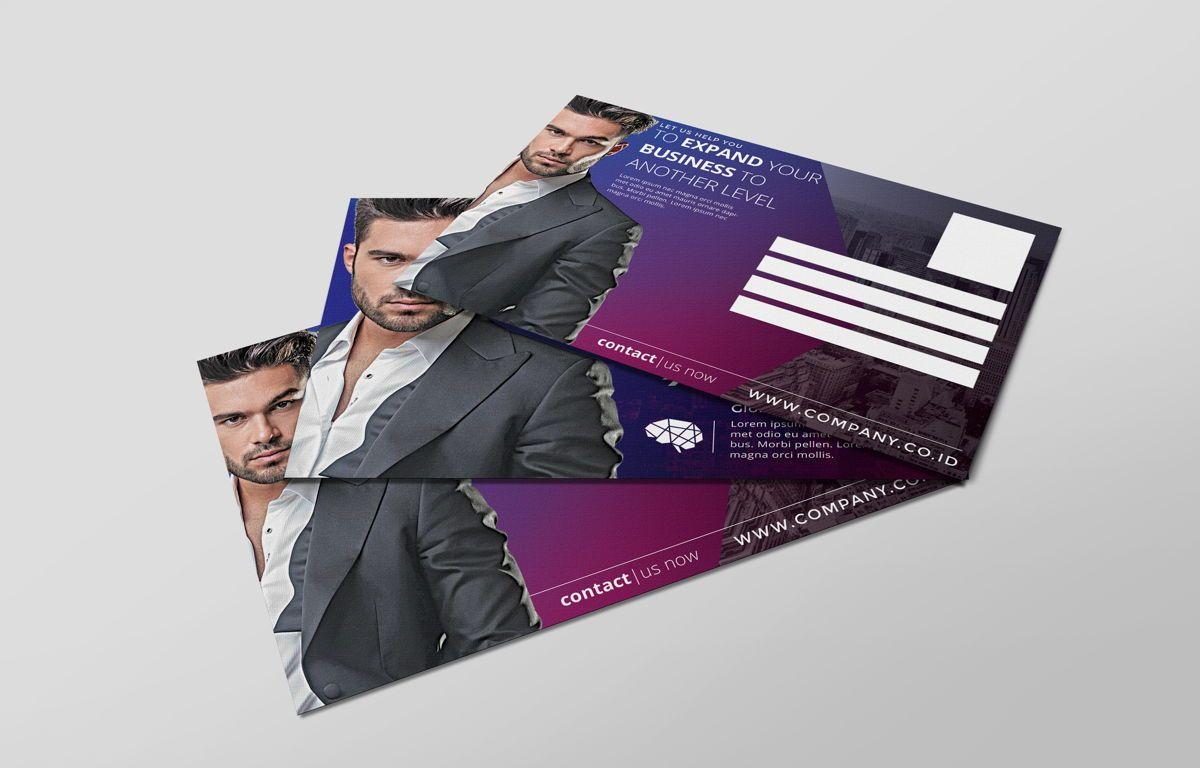 Company PostCard Template, Slide 6, 08738, Business — PoweredTemplate.com