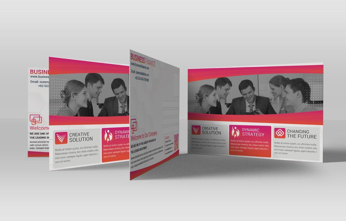Company PostCard Template, Slide 2, 08739, Business — PoweredTemplate.com