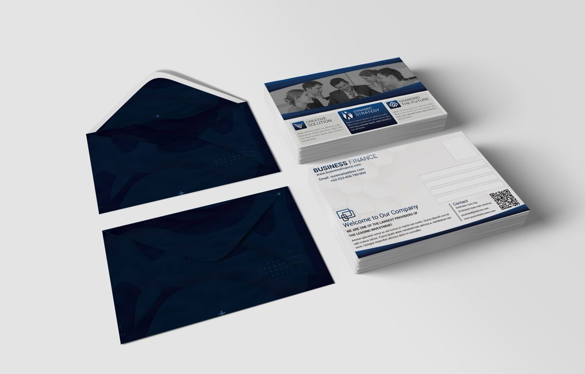 Company PostCard Template, Slide 3, 08739, Business — PoweredTemplate.com