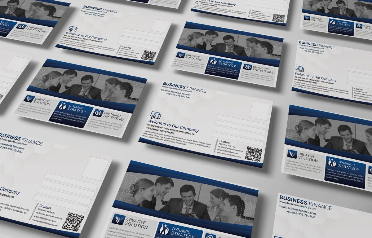 Company PostCard Template, Slide 4, 08739, Business — PoweredTemplate.com