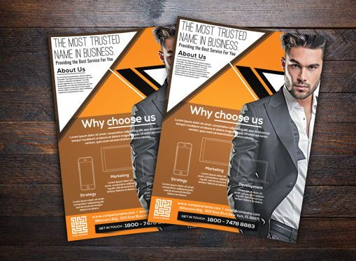 Business: Corporate Flyer Template #08742
