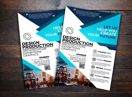 Business: Corporate Flyer Template #08743