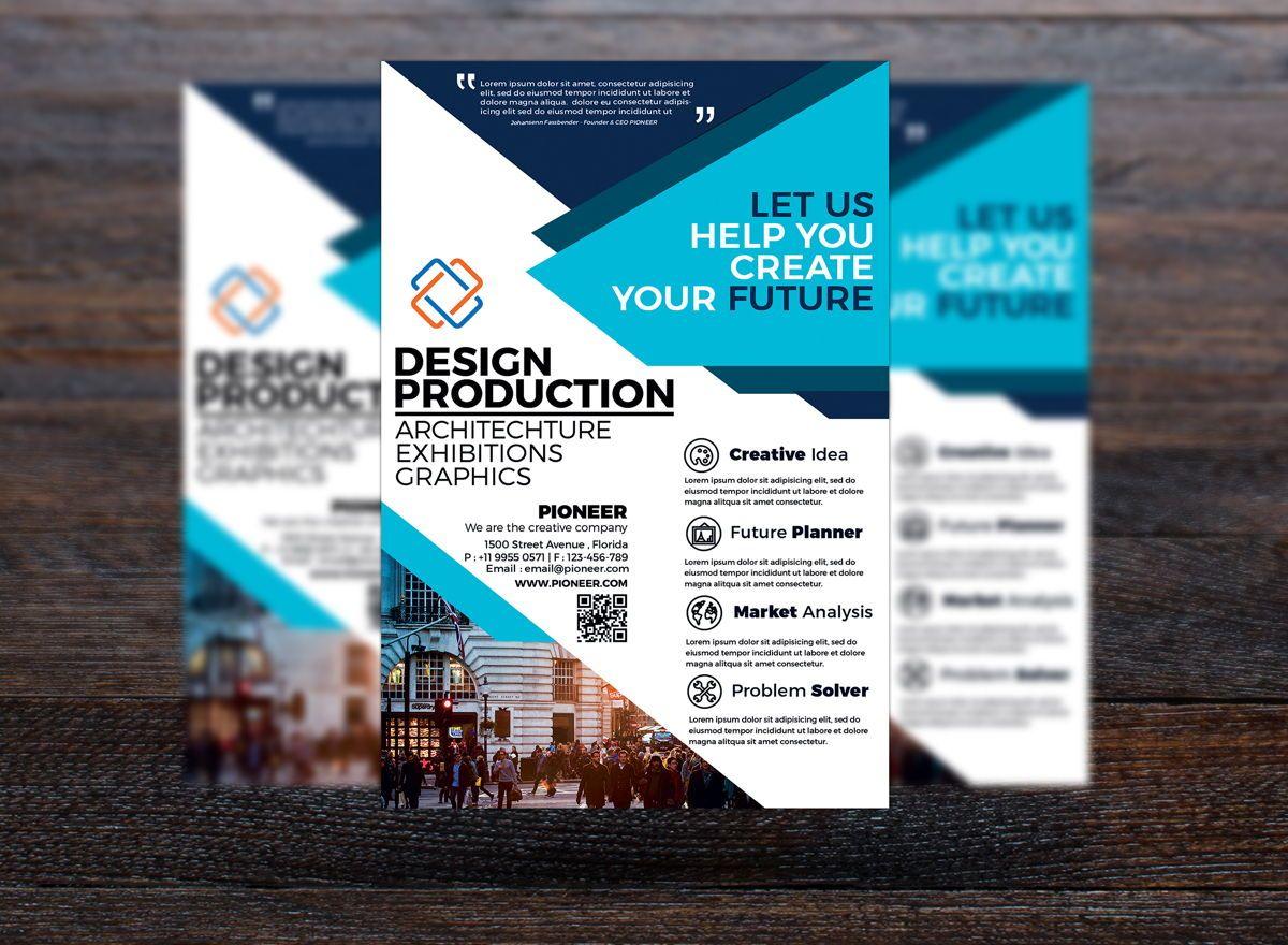 Corporate Flyer Template, Slide 3, 08743, Business — PoweredTemplate.com