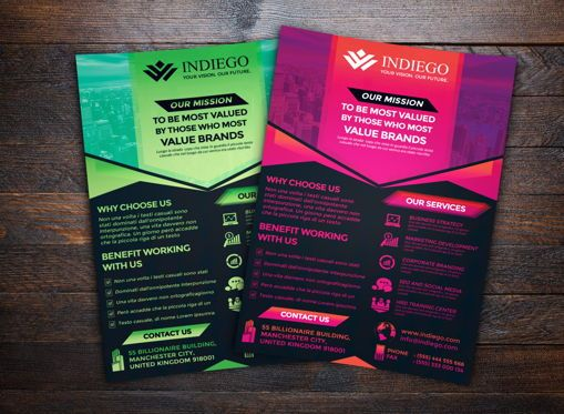 Business: Company Flyer Template #08748