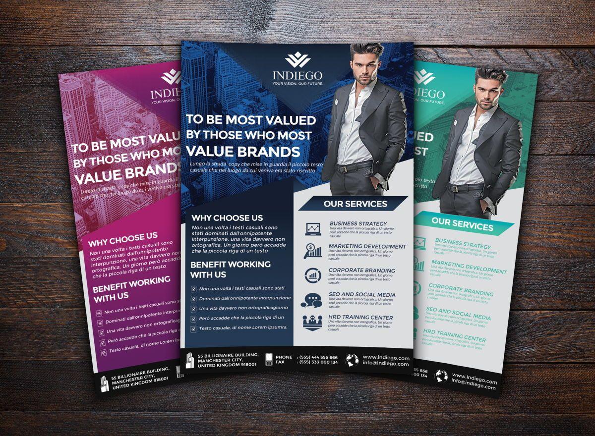 Company Flyer Template, Slide 3, 08749, Business — PoweredTemplate.com