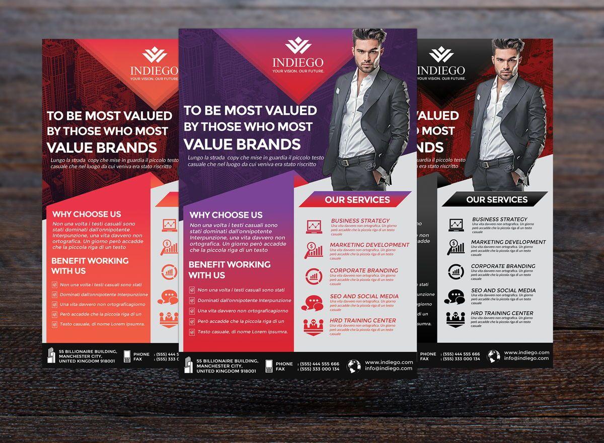 Company Flyer Template, Slide 5, 08749, Business — PoweredTemplate.com