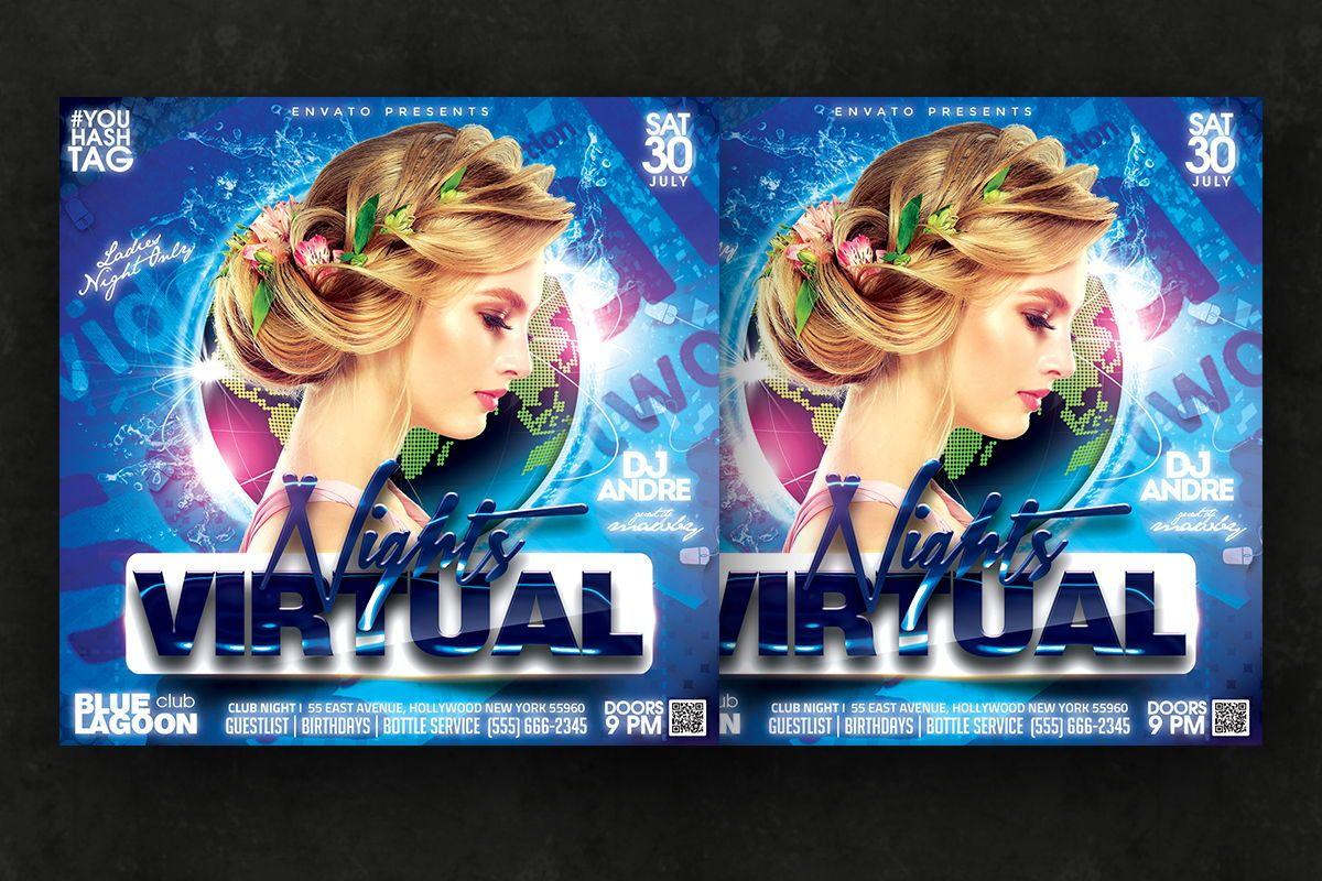 Night Club Flyer Template, Slide 3, 08750, Art & Entertainment — PoweredTemplate.com
