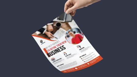 Careers/Industry: Multipurpose Business Services Promotional Flyer #08764