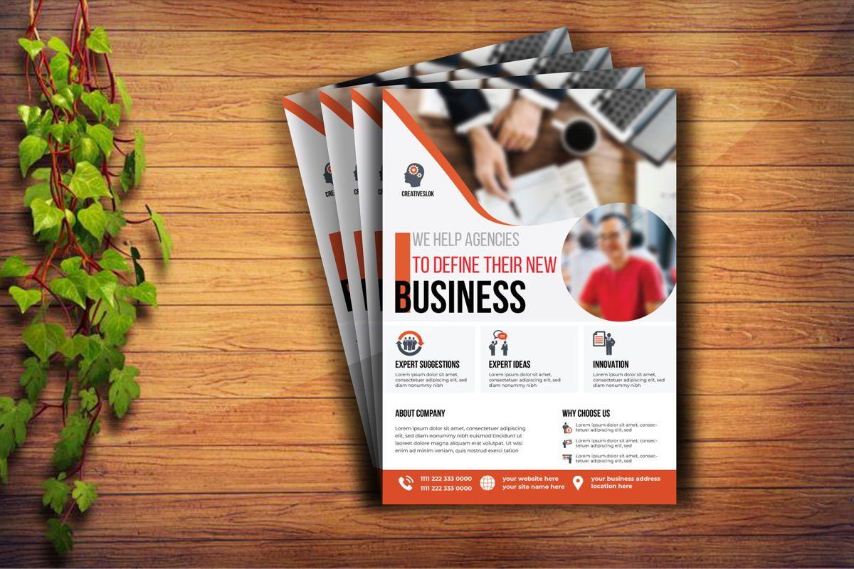 Multipurpose Business Services Promotional Flyer, Diapositive 2, 08764, Carrière / Industrie — PoweredTemplate.com