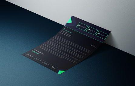 Business: Latest creative business letterhead bundle #08765