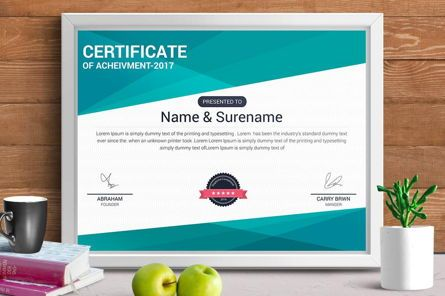 Business: Certificate Template #08776