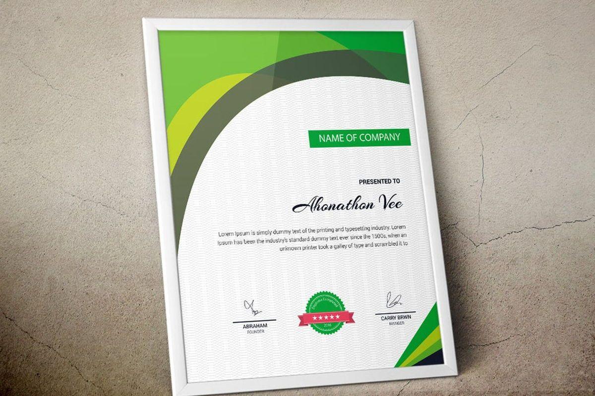 Modern Certificate Template, Slide 5, 08777, Business — PoweredTemplate.com