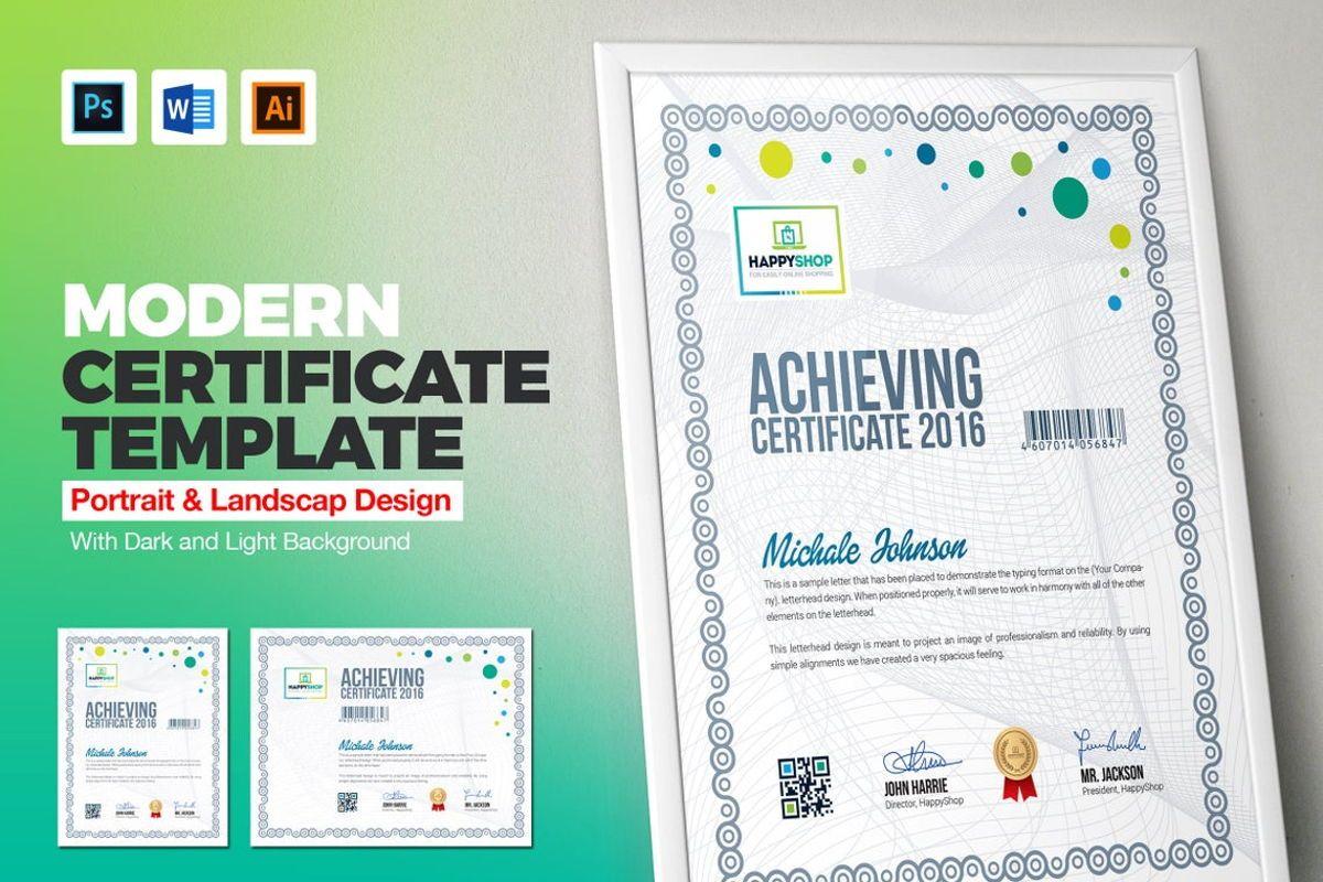 Multipurpose Certificate Template, 08779, Business — PoweredTemplate.com