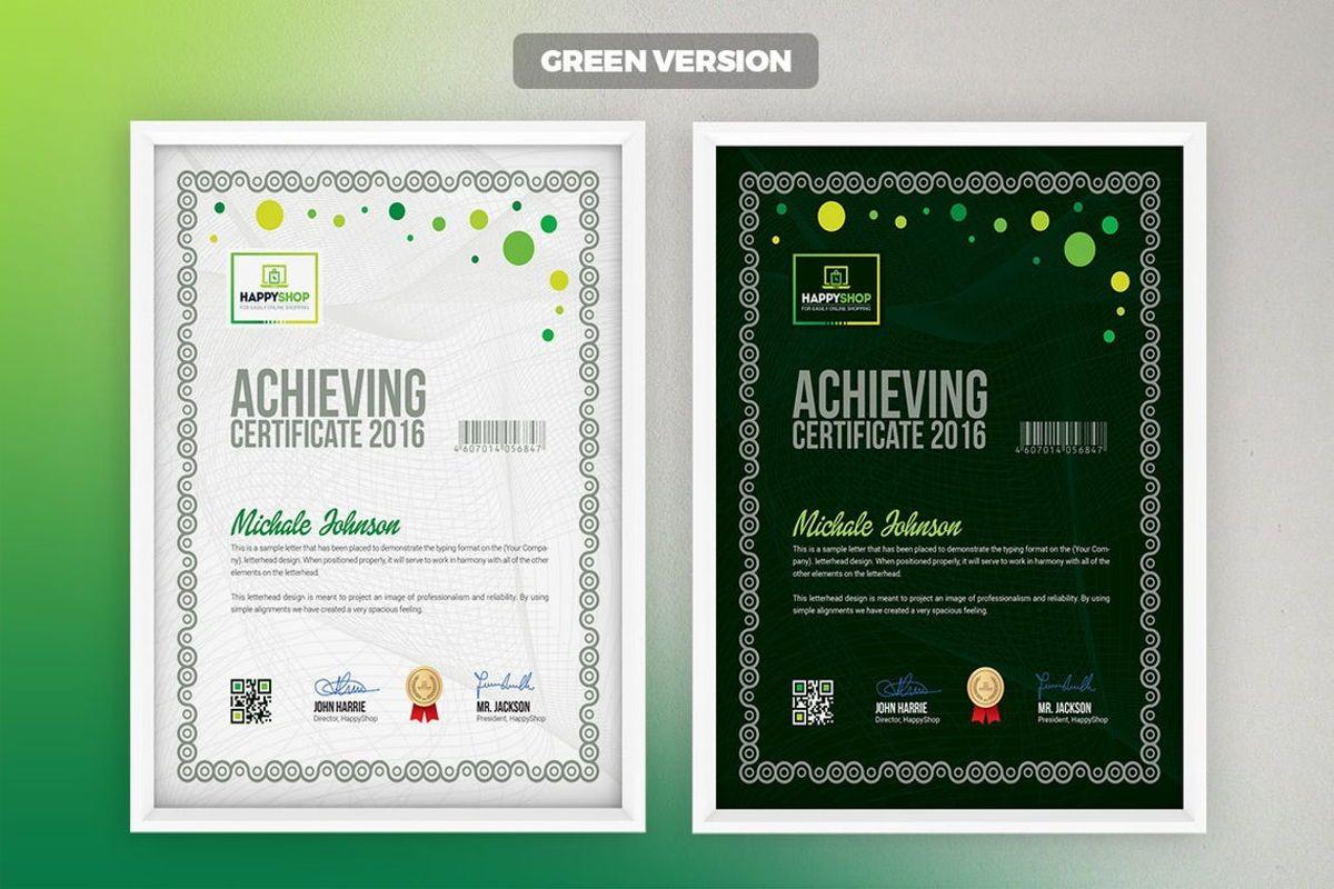 Multipurpose Certificate Template, Slide 5, 08779, Business — PoweredTemplate.com
