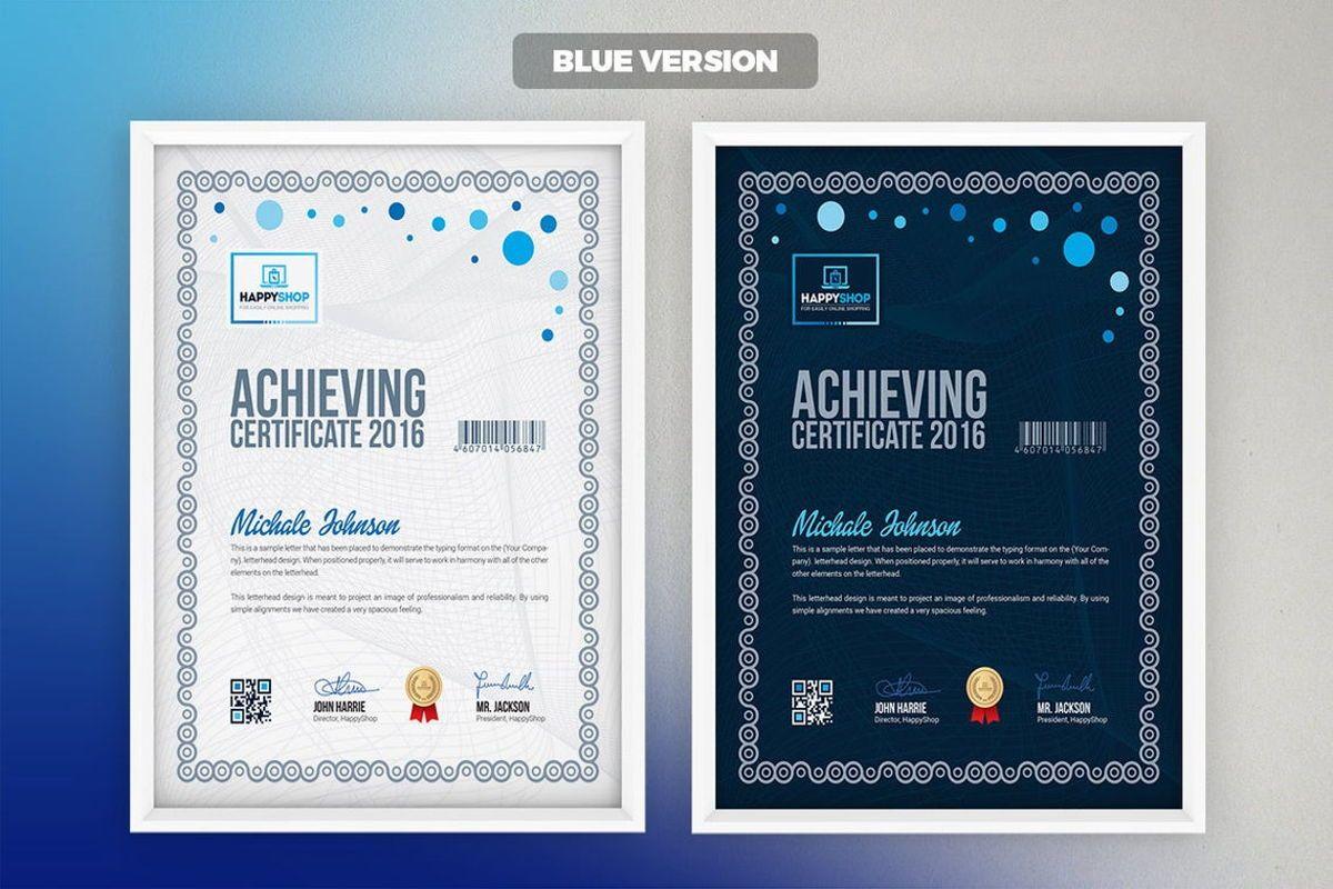 Multipurpose Certificate Template, Slide 6, 08779, Business — PoweredTemplate.com