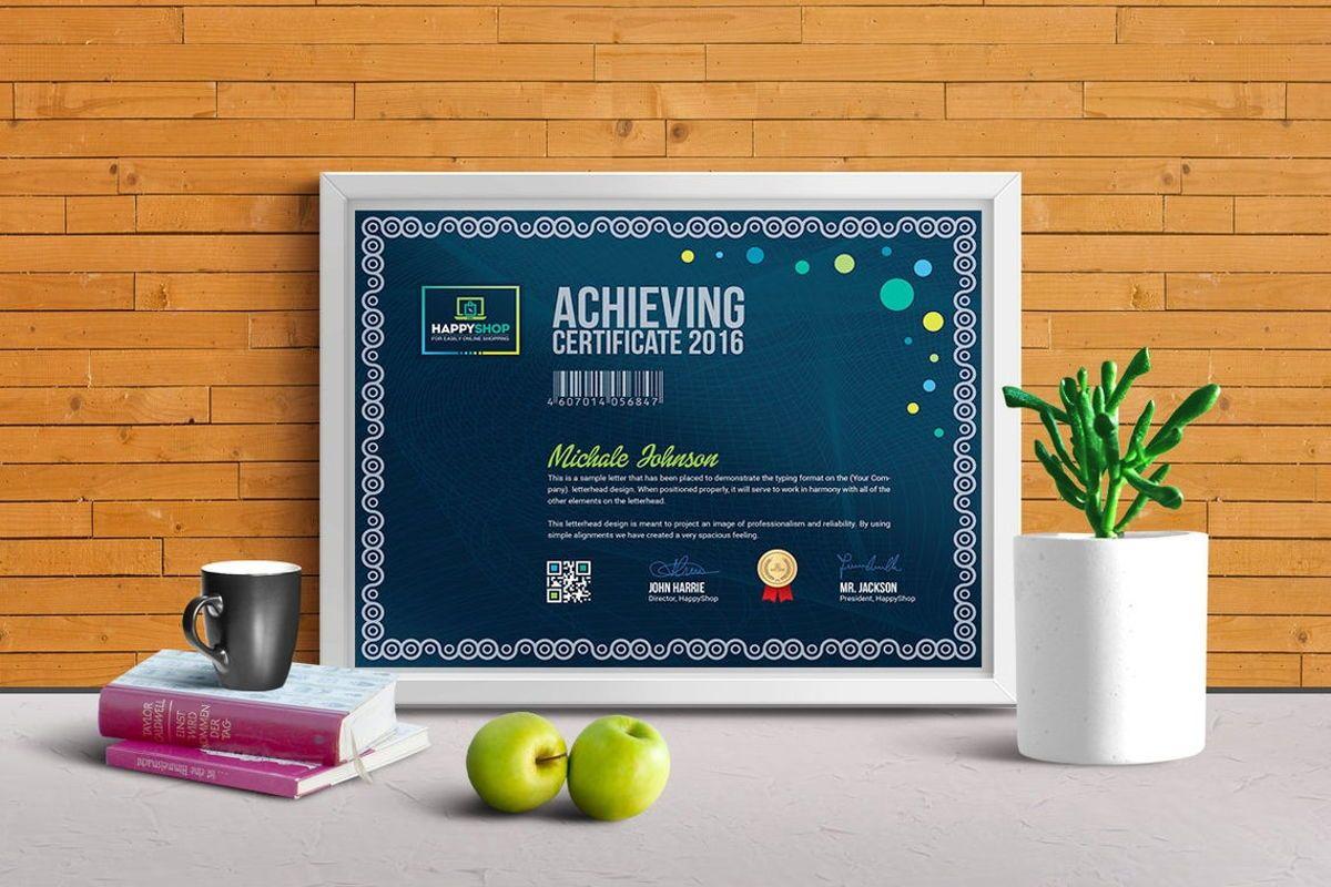 Multipurpose Certificate Template, Slide 8, 08779, Business — PoweredTemplate.com