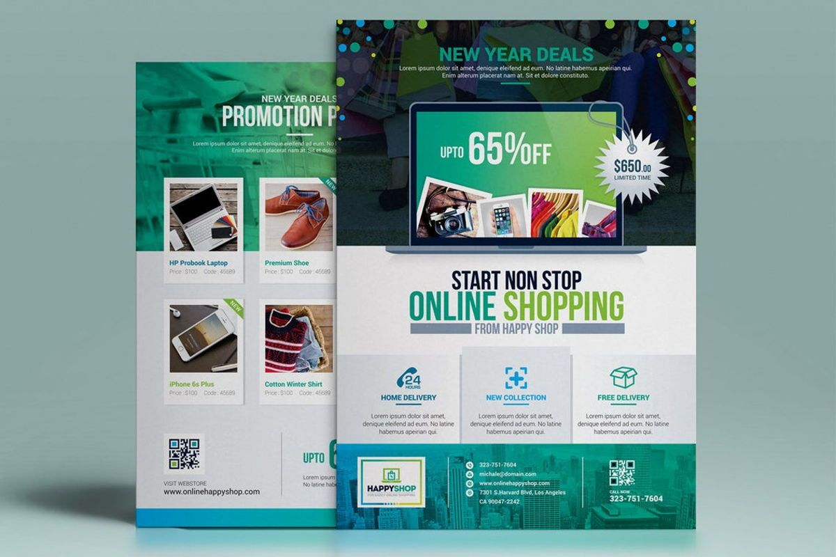 Product Promotional Flyer Poster Template, Slide 2, 08782, Careers/Industry — PoweredTemplate.com