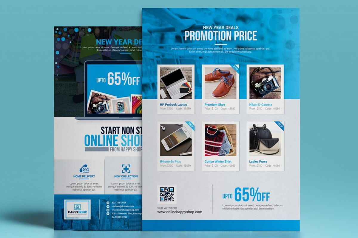 Product Promotional Flyer Poster Template, Slide 5, 08782, Careers/Industry — PoweredTemplate.com