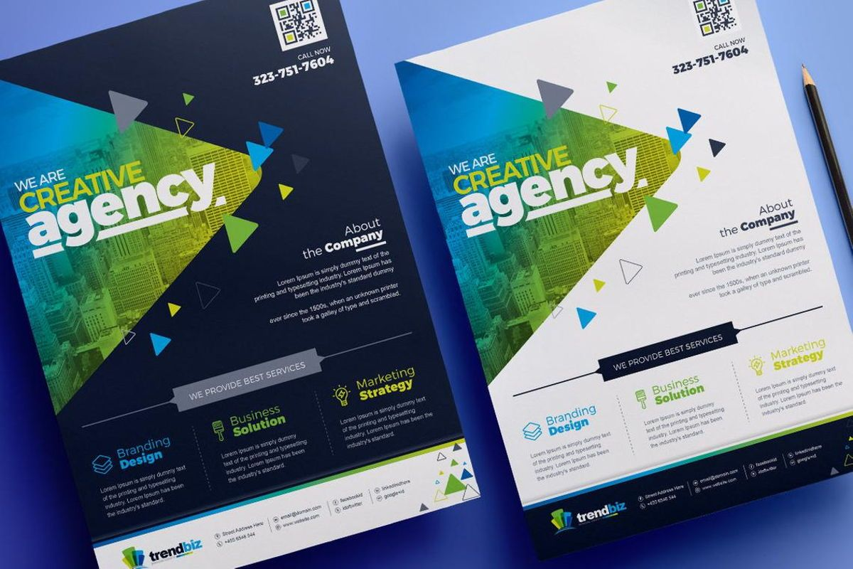TrendBiz - Corporate Business Flyer Template, Slide 2, 08783, Business — PoweredTemplate.com
