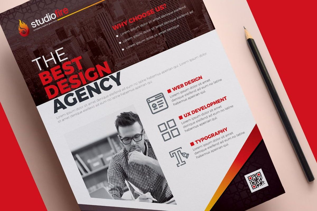 StudioFire - Corporate Flyer Design Template, Slide 9, 08785, Business — PoweredTemplate.com