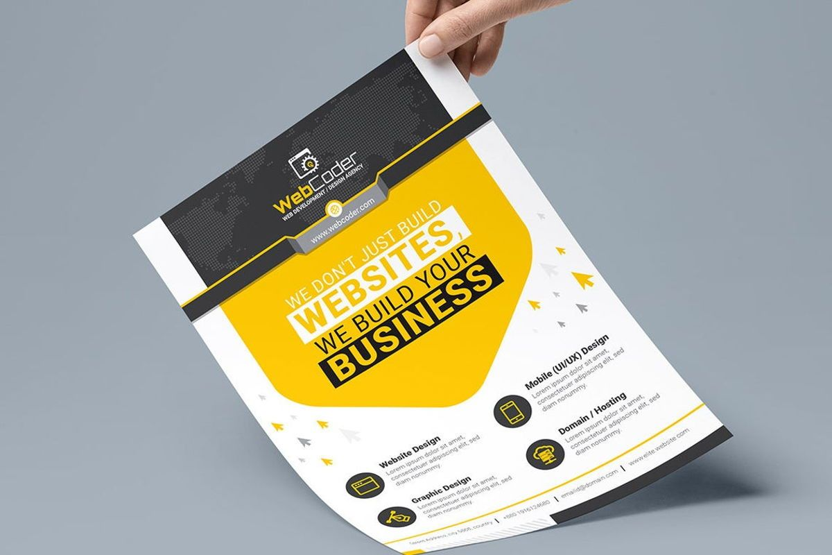 WebCoder - Web Design and Development Agency Flyer Template, Slide 7, 08786, Business — PoweredTemplate.com