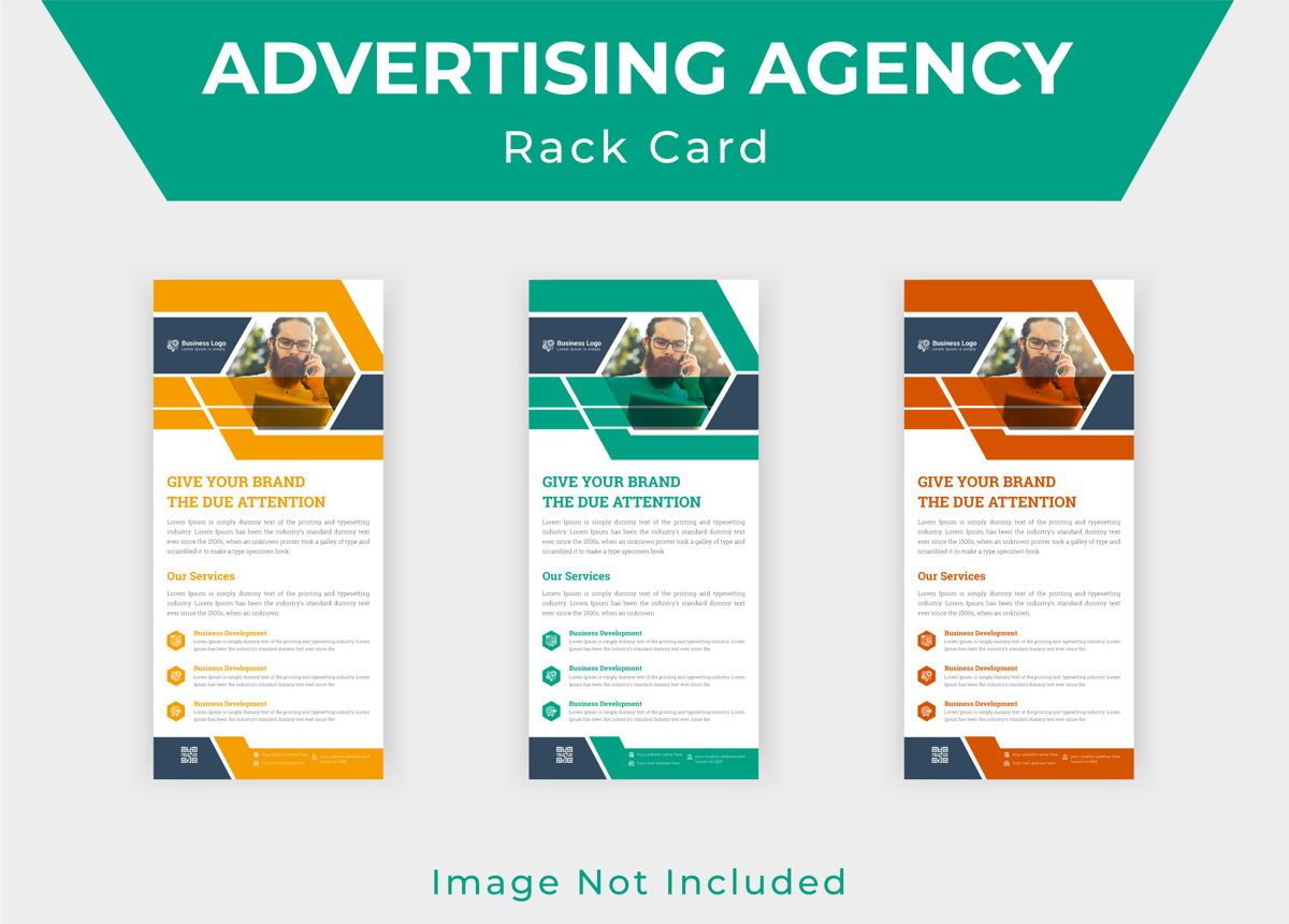 Latest Advertising Agency Services Rack Card Or Dl Flyer Template, Slide 4, 08793, Business — PoweredTemplate.com