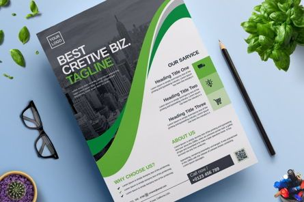Business: Corporate Business Flyer and Poster Design Template Vol 03 #08807