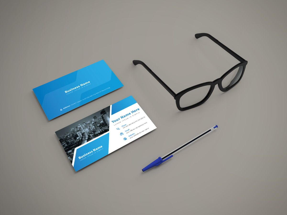Creative Corporate Professional Personal Business Card Template, Dia 3, 08811, Abstract/Textuur — PoweredTemplate.com