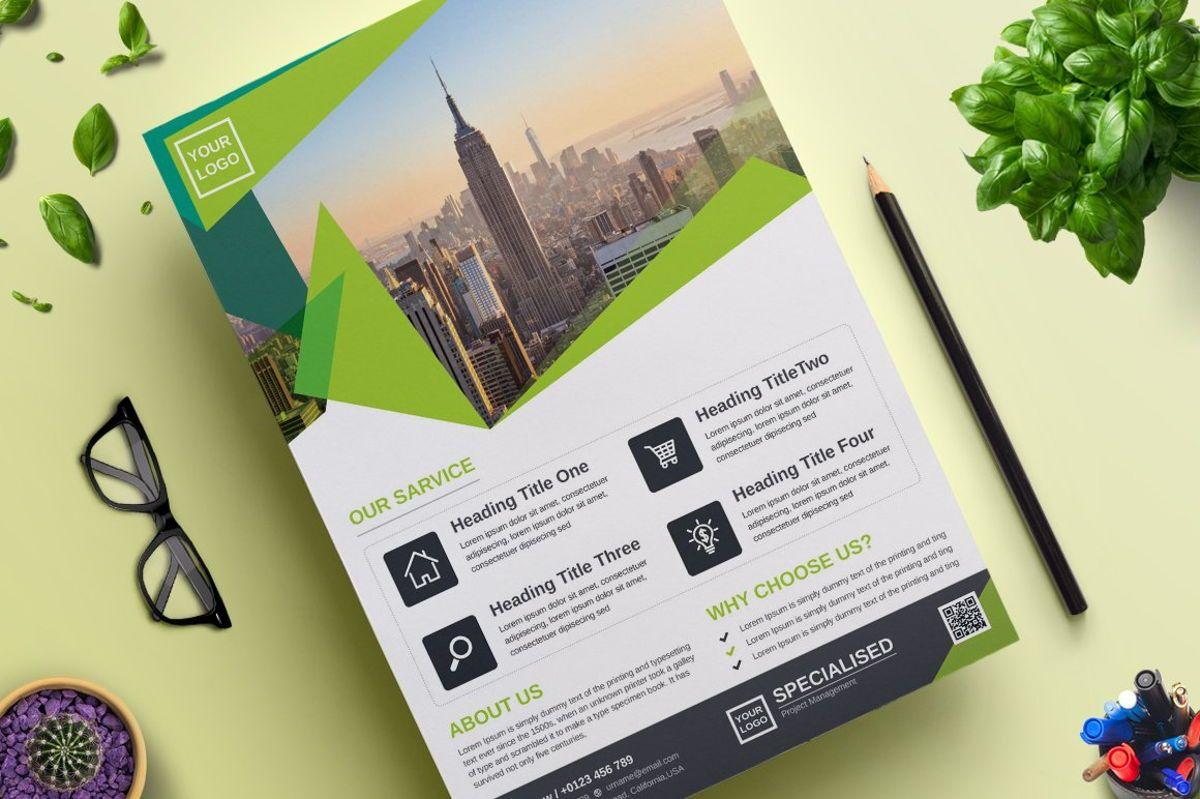 Corporate Business Flyer Template Vol 07, Slide 2, 08816, Business — PoweredTemplate.com