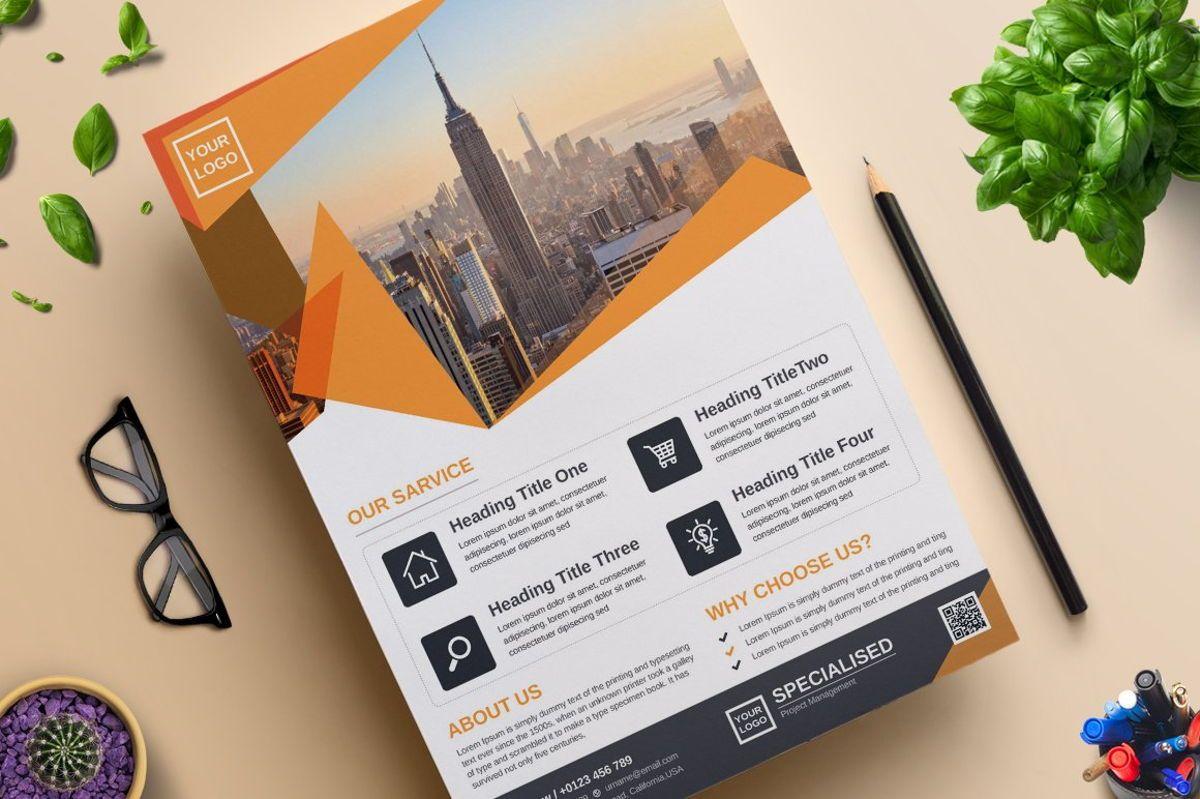 Corporate Business Flyer Template Vol 07, Slide 3, 08816, Business — PoweredTemplate.com