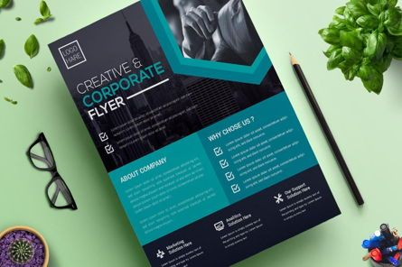 Business: Corporate Business Flyer Vol 13 #08825