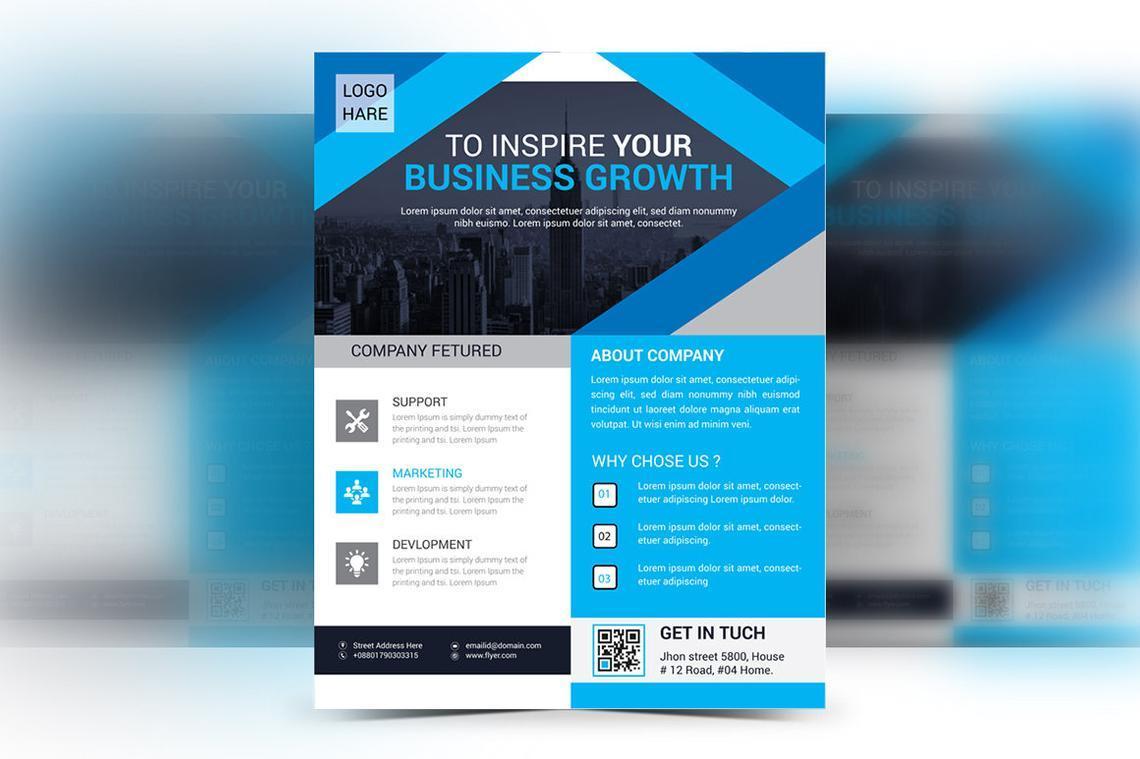 Corporate Business Flyer Vol 14, Slide 2, 08826, Business — PoweredTemplate.com
