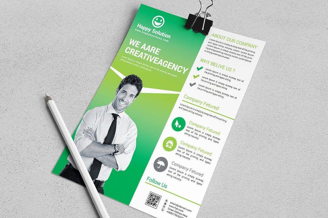 Corporate Business Flyer Vol 17, 08828, Business — PoweredTemplate.com
