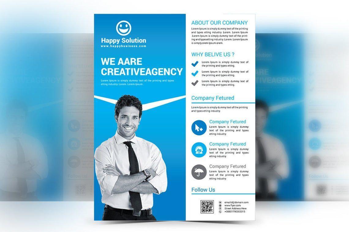 Corporate Business Flyer Vol 17, Slide 2, 08828, Business — PoweredTemplate.com