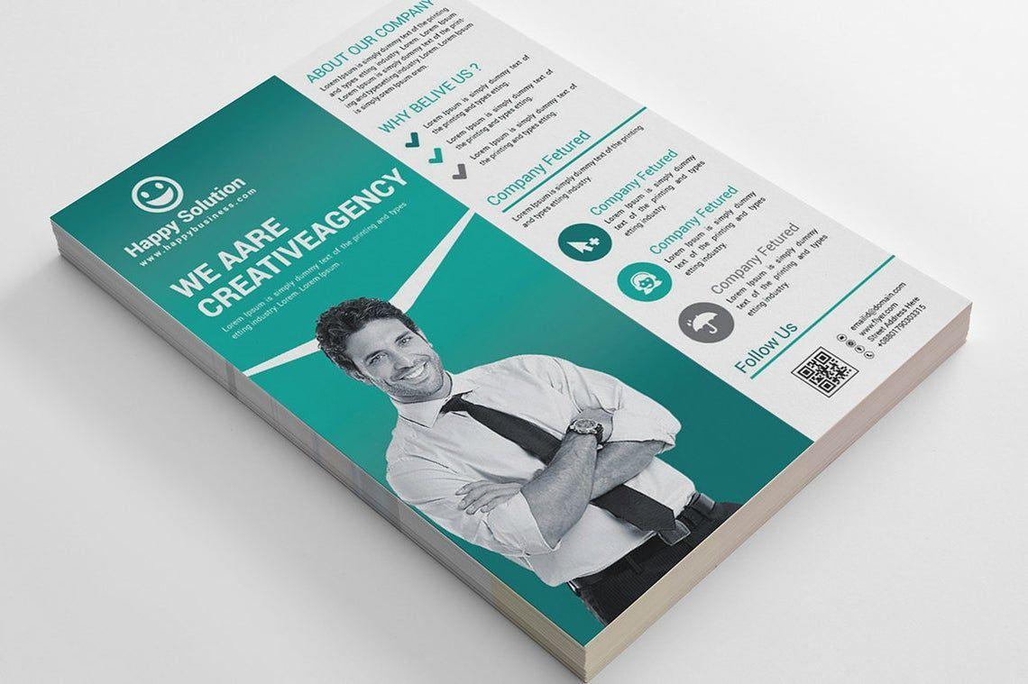 Corporate Business Flyer Vol 17, Slide 4, 08828, Business — PoweredTemplate.com