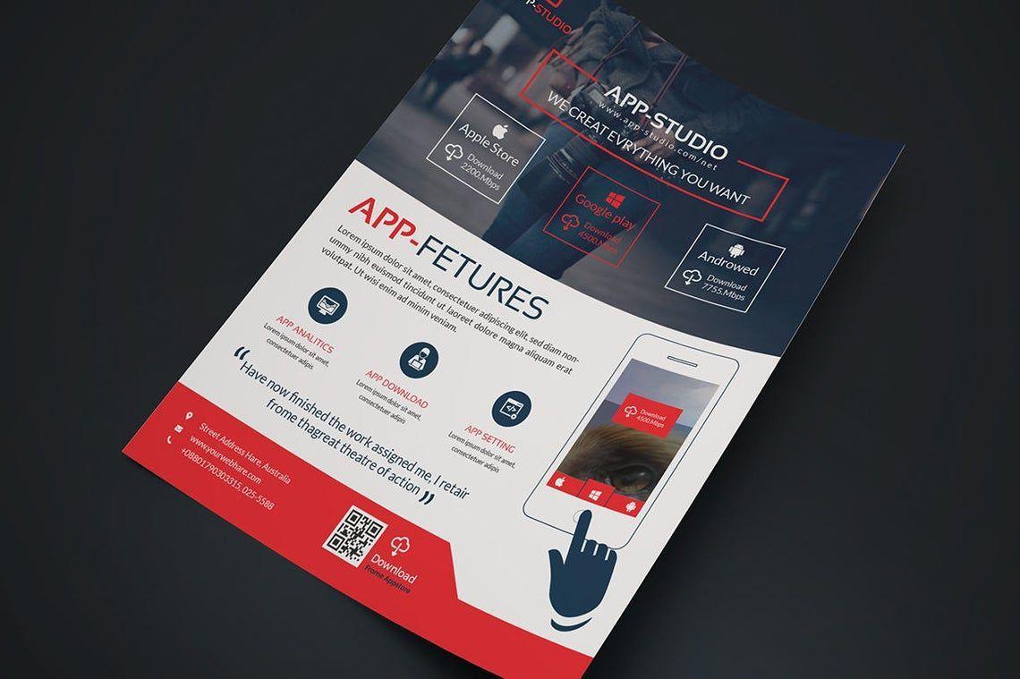 Mobile Application Flyer, Slide 5, 08835, Business — PoweredTemplate.com