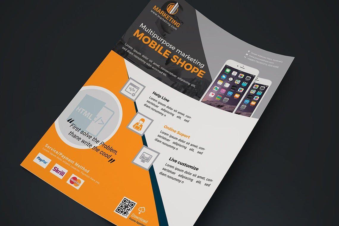 Mobile Application Flyer Vol 02, Slide 2, 08836, Business — PoweredTemplate.com