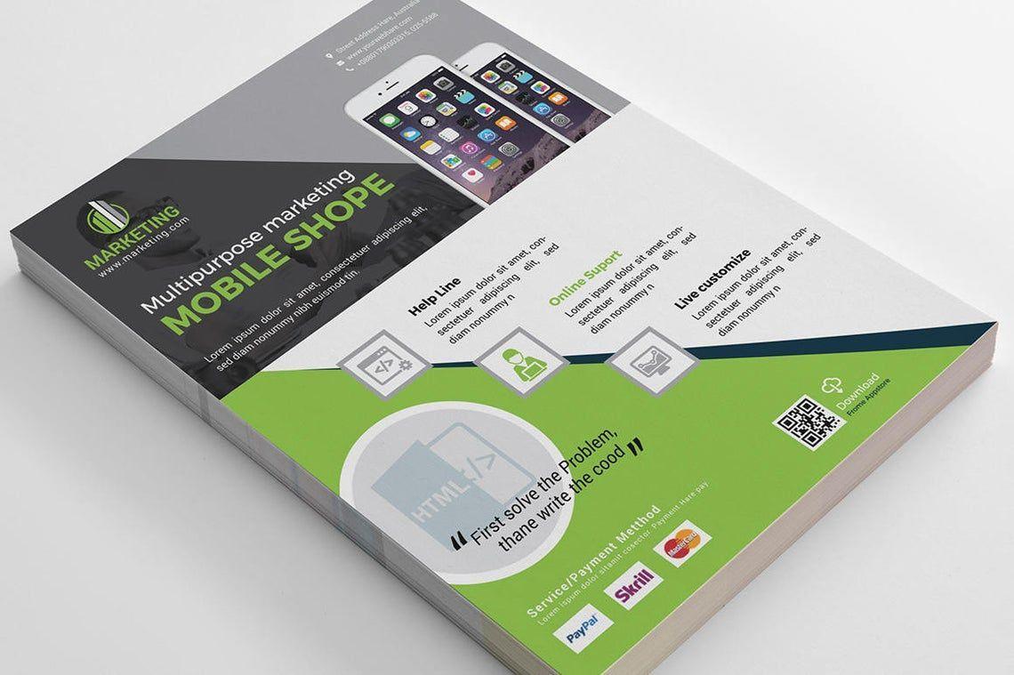 Mobile Application Flyer Vol 02, Slide 4, 08836, Business — PoweredTemplate.com