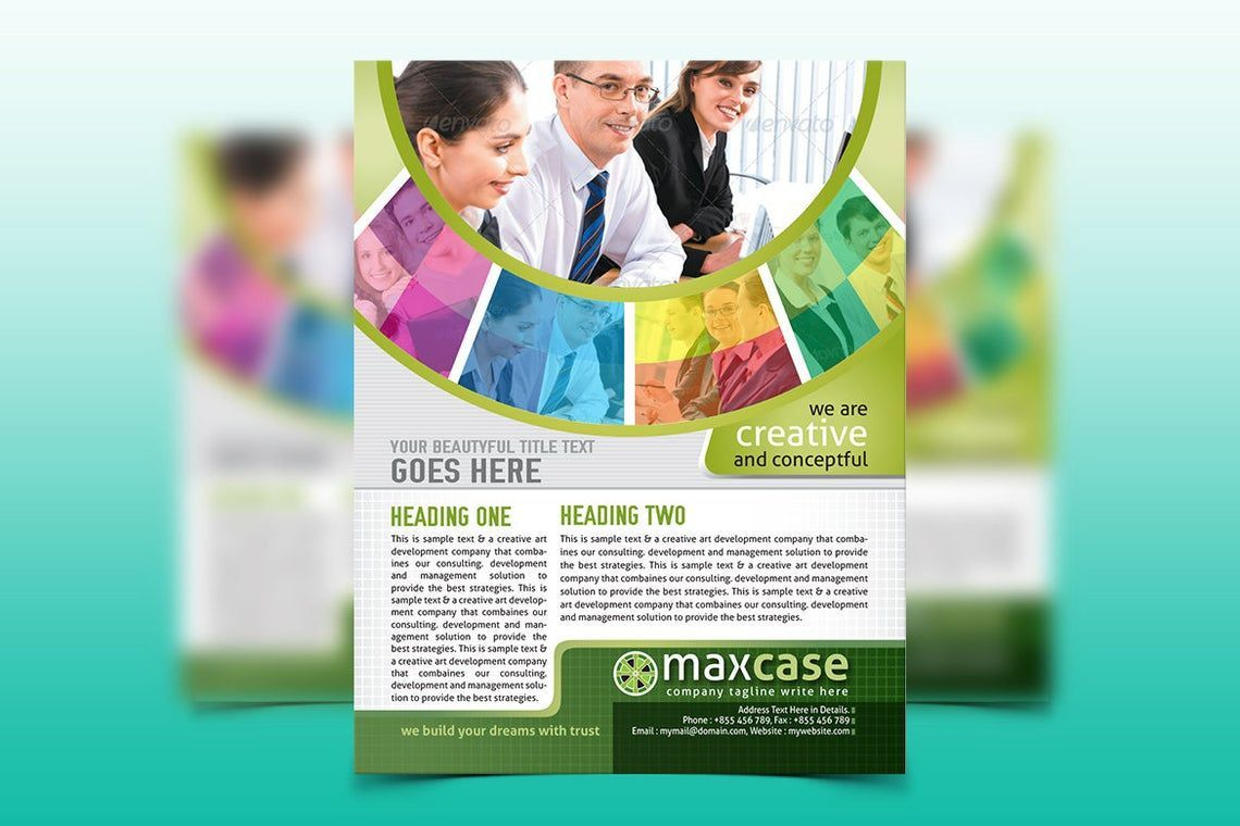 MaxCase - Corporate Business Flyer Template, Slide 3, 08838, Bisnis — PoweredTemplate.com
