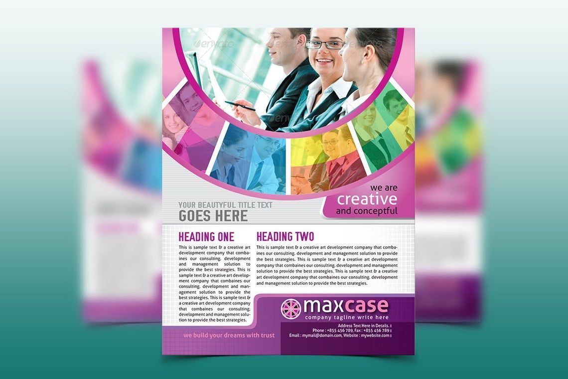 MaxCase - Corporate Business Flyer Template, Slide 4, 08838, Bisnis — PoweredTemplate.com