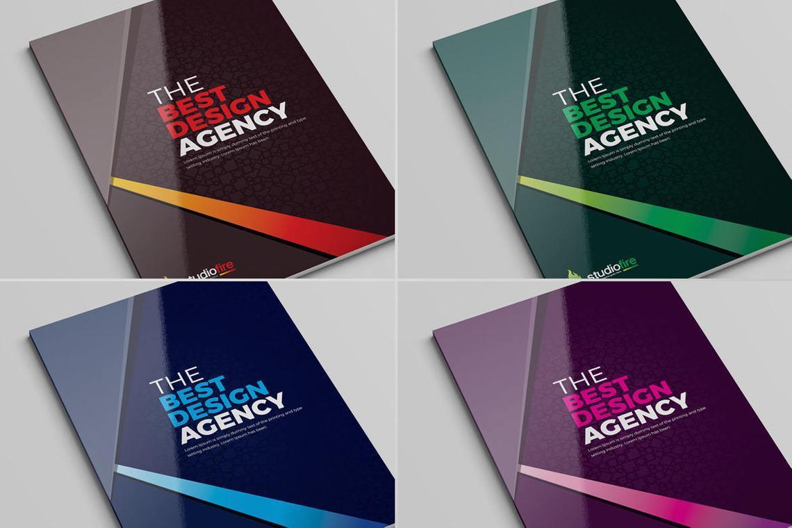 Design Agency 24 Pages InDesign Brochure Template, Slide 10, 08842, Business — PoweredTemplate.com