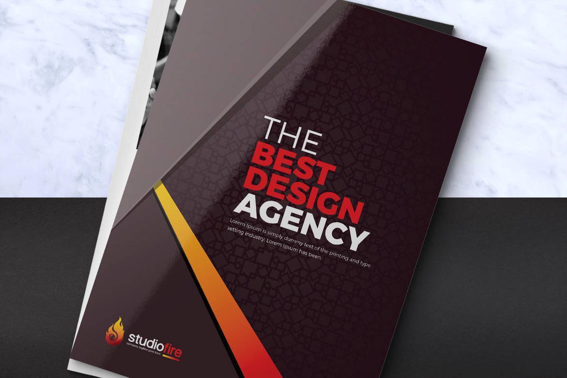 Design Agency 24 Pages InDesign Brochure Template, Slide 2, 08842, Business — PoweredTemplate.com