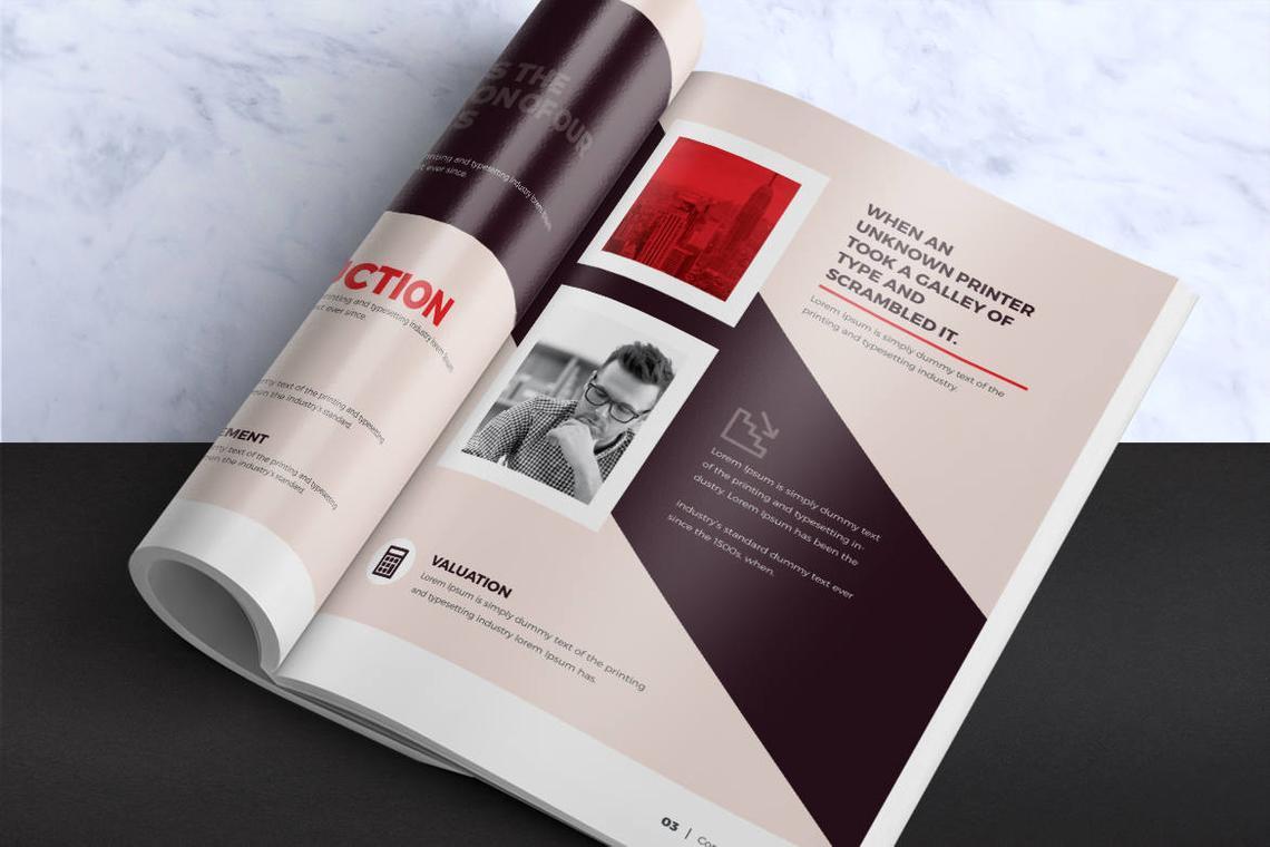 Design Agency 24 Pages InDesign Brochure Template, Slide 4, 08842, Business — PoweredTemplate.com