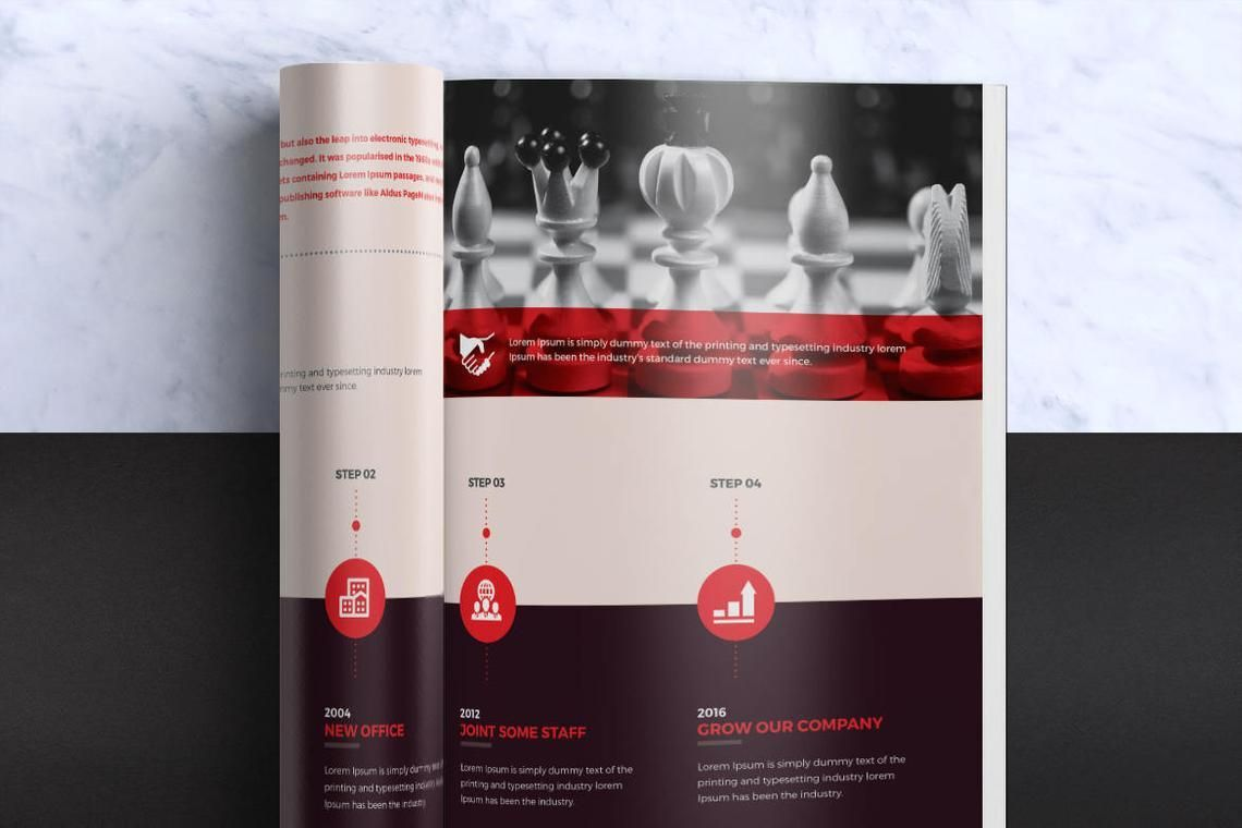 Design Agency 24 Pages InDesign Brochure Template, Slide 6, 08842, Business — PoweredTemplate.com