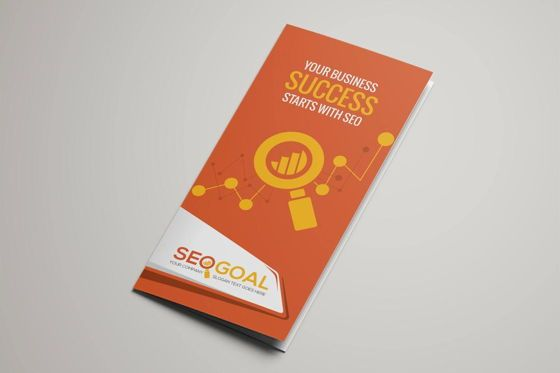 Careers/Industry: SEO-Search Engine Optimization Agency Service Brochure Template #08844