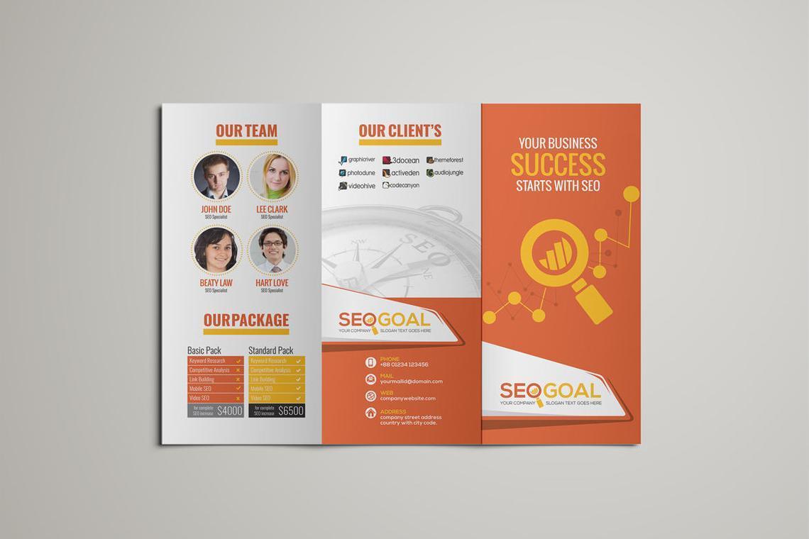 SEO-Search Engine Optimization Agency Service Brochure Template, Slide 4, 08844, Careers/Industry — PoweredTemplate.com