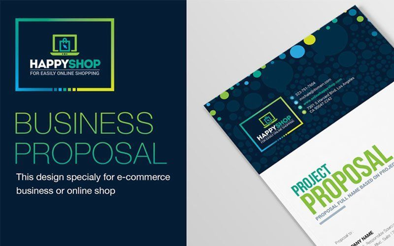30 Pages Bi-Fold Brochure InDesign Template, 08845, Business — PoweredTemplate.com