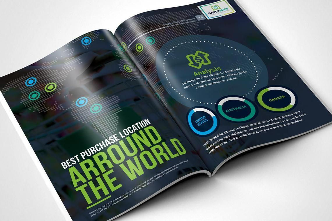 30 Pages Bi-Fold Brochure InDesign Template, Slide 10, 08845, Business — PoweredTemplate.com