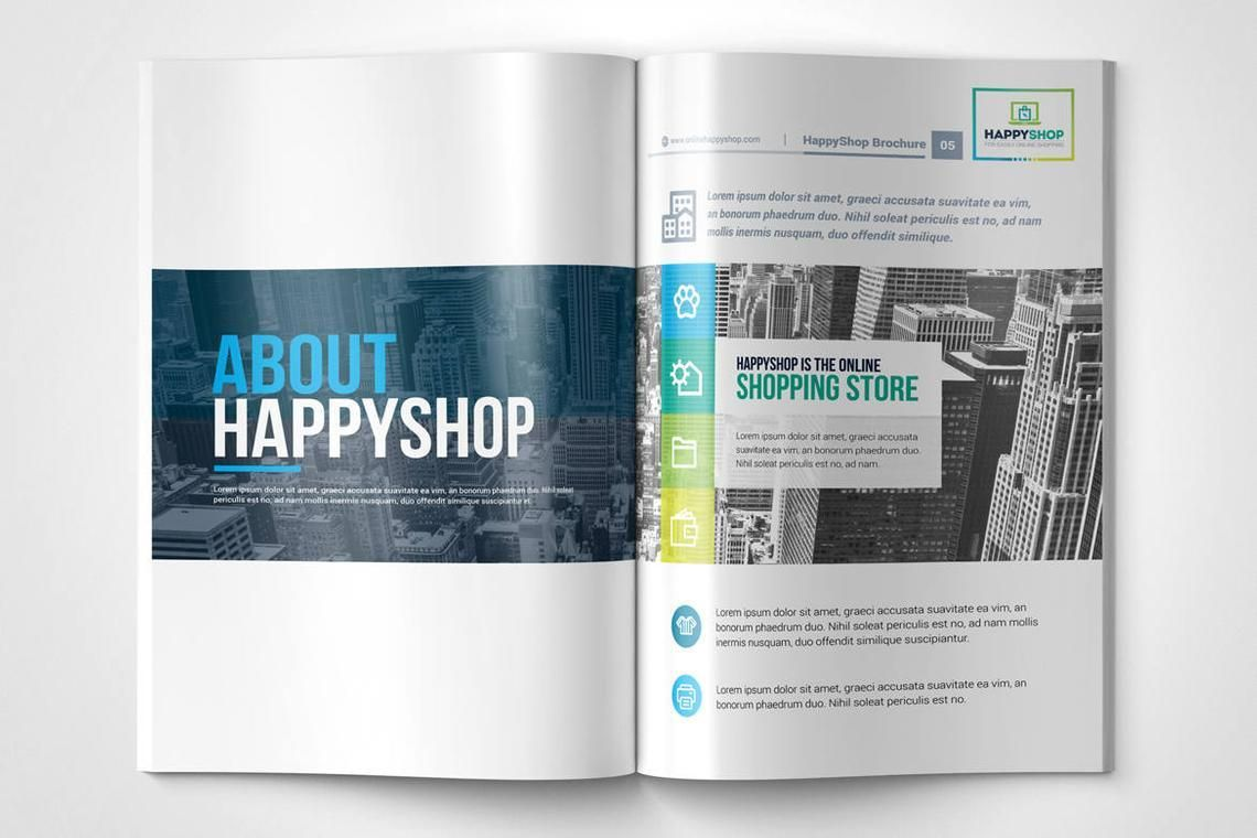 30 Pages Bi-Fold Brochure InDesign Template, Slide 3, 08845, Business — PoweredTemplate.com