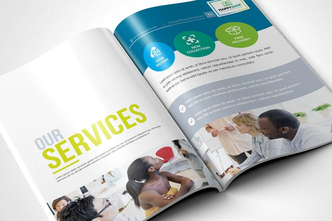 30 Pages Bi-Fold Brochure InDesign Template, Slide 6, 08845, Business — PoweredTemplate.com
